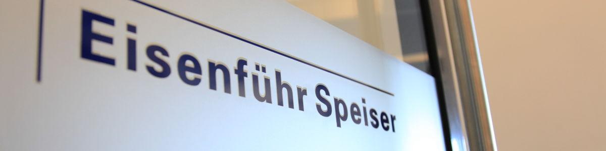 Eisenführ Speiser Patentanwälte Rechtsanwälte PartGmbB cover